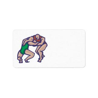 Wrestling 5 label
