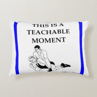 wrestling accent pillow