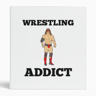 Wrestling Addict Vinyl Binders