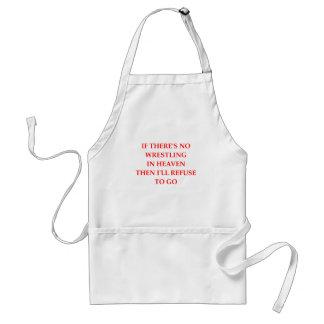 wrestling adult apron