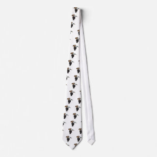 Wrestling Announcer Neck Tie