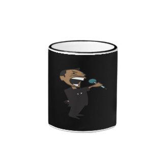 Wrestling Announcer Ringer Coffee Mug