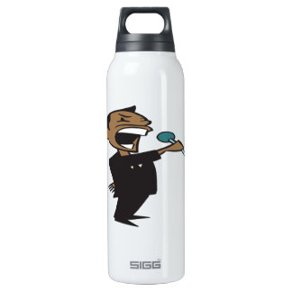 Wrestling Announcer 16 Oz Insulated SIGG Thermos Water Bottle