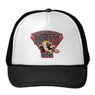 Wrestling Bring It On Mesh Hats