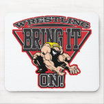 Wrestling Bring It On Mouse Pad