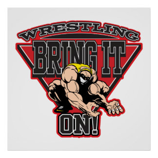 Wrestling Bring It On Posters