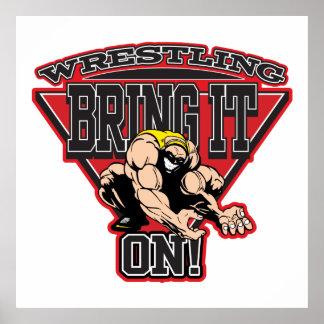 Wrestling Bring It On Poster