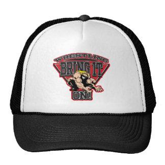 Wrestling Bring It On Trucker Hat