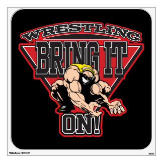 Wrestling Bring It On Wall Decal