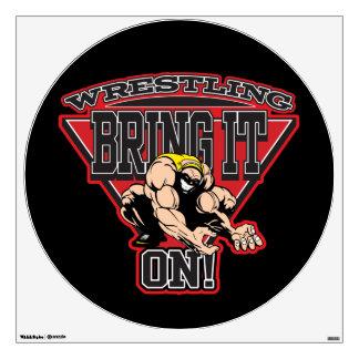 Wrestling Bring It On Wall Sticker