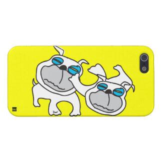 Wrestling Bulldog iPhone 5 Case