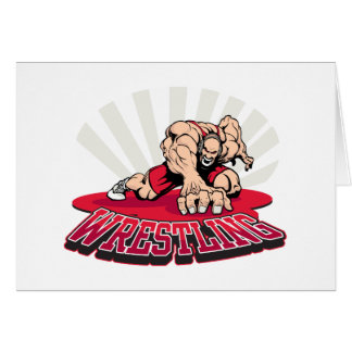 Wrestling! Greeting Cards
