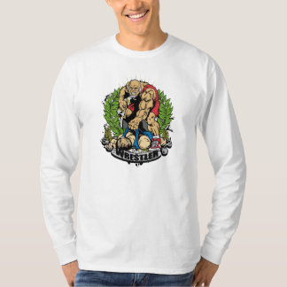 Wrestling tournament t shirts shirt designs zazzle for Wrestling tournament t shirt designs