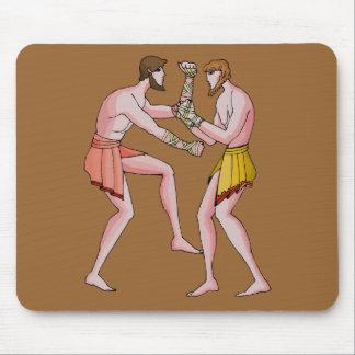 Wrestling champin 396 BC Mouse Pad
