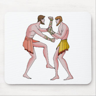 Wrestling champin 396 BC Mouse Pads