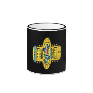Wrestling Championship Belt Ringer Mug