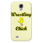 Wrestling Chick Galaxy S4 Cover