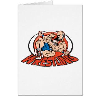 Wrestling Choke Hold Card