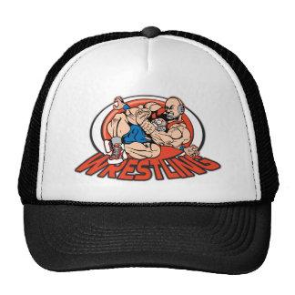 Wrestling Choke Hold Mesh Hat