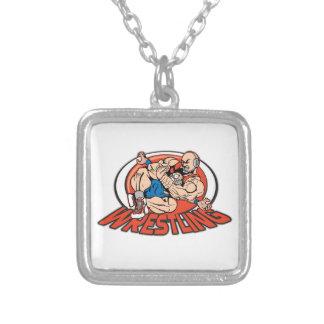 Wrestling Choke Hold Custom Necklace
