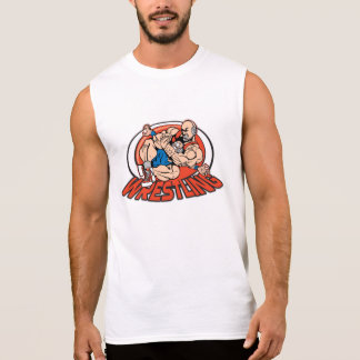 Wrestling Choke Hold Sleeveless Shirt