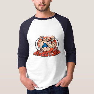 Wrestling Choke Hold Tee Shirt