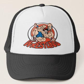 Wrestling Choke Hold Trucker Hat