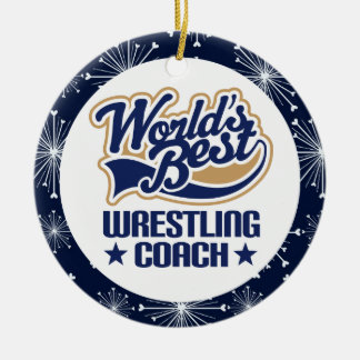Wrestling Coach Gift Ornament