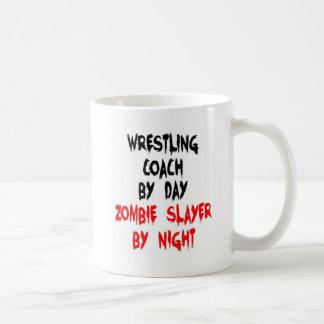 Wrestling Coach Zombie Slayer Coffee Mug