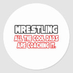Wrestling...Cool Dads Stickers