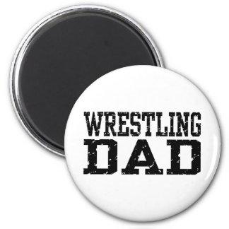 Wrestling Dad Magnet