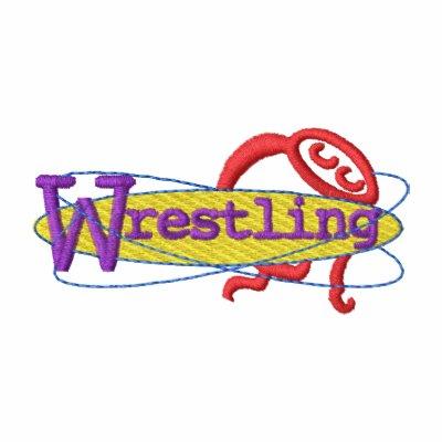 Wrestling Embroidered Jacket