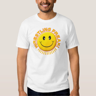 Wrestling Freak Smile Tee Shirt