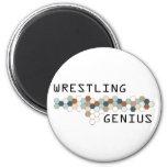 Wrestling Genius Magnets