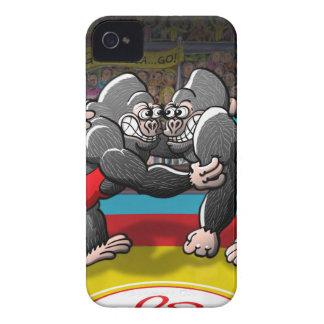 Wrestling Gorillas Case-Mate iPhone 4 Case