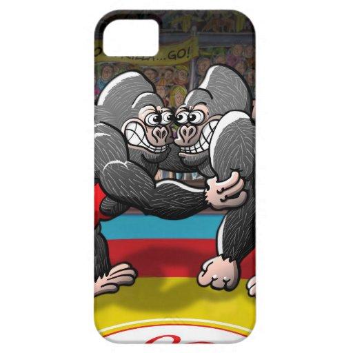 Wrestling Gorillas iPhone 5 Cover