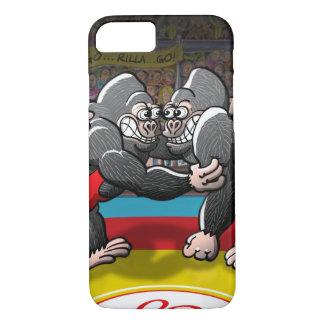 Wrestling Gorillas iPhone 8/7 Case
