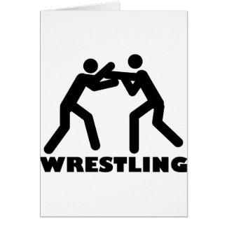 wrestling icon card