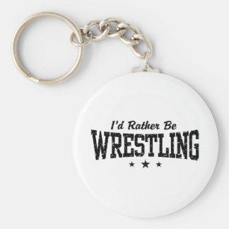 Wrestling Keychain