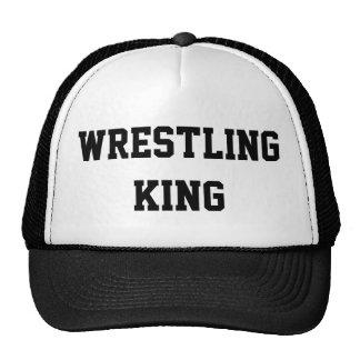 Wrestling King Trucker Hat