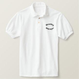 Wrestling, Manager Embroidered Shirt