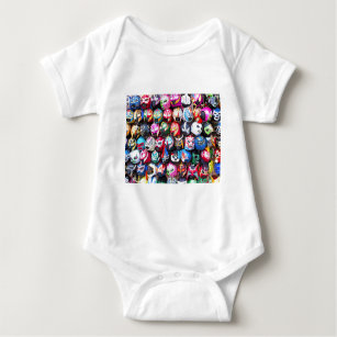 lucha libre baby clothes shoes zazzle
