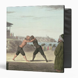 Wrestling Match, Constantinople (w/c on paper) Binders