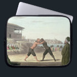 "Wrestling Match, Constantinople (w/c on paper) Computer Sleeve<br><div class=""desc"">Image:16957  Wrestling Match,  Constantinople (w/c on paper).  Victoria &amp; Albert Museum,  London,  UK.  Art,  Fine Art.</div>"
