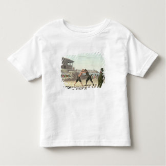 Wrestling Match, Constantinople (w/c on paper) Toddler T-shirt