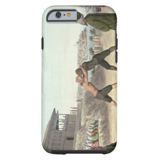 Wrestling Match, Constantinople (w/c on paper) Tough iPhone 6 Case