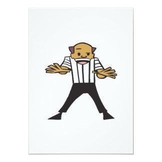 Wrestling Referee Card