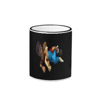 Wrestling Ringer Coffee Mug