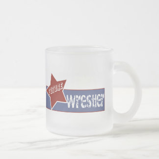 Wrestling T Shirts and Gifts Frosted Glass Coffee Mug