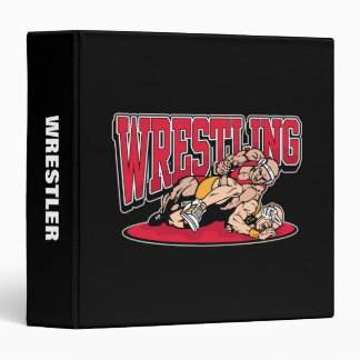 Wrestling Takedown Binder